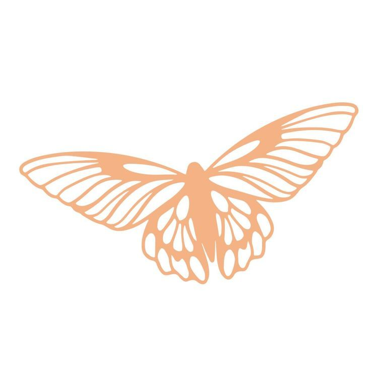 Open Butterfly Mini Stamp (1pc)