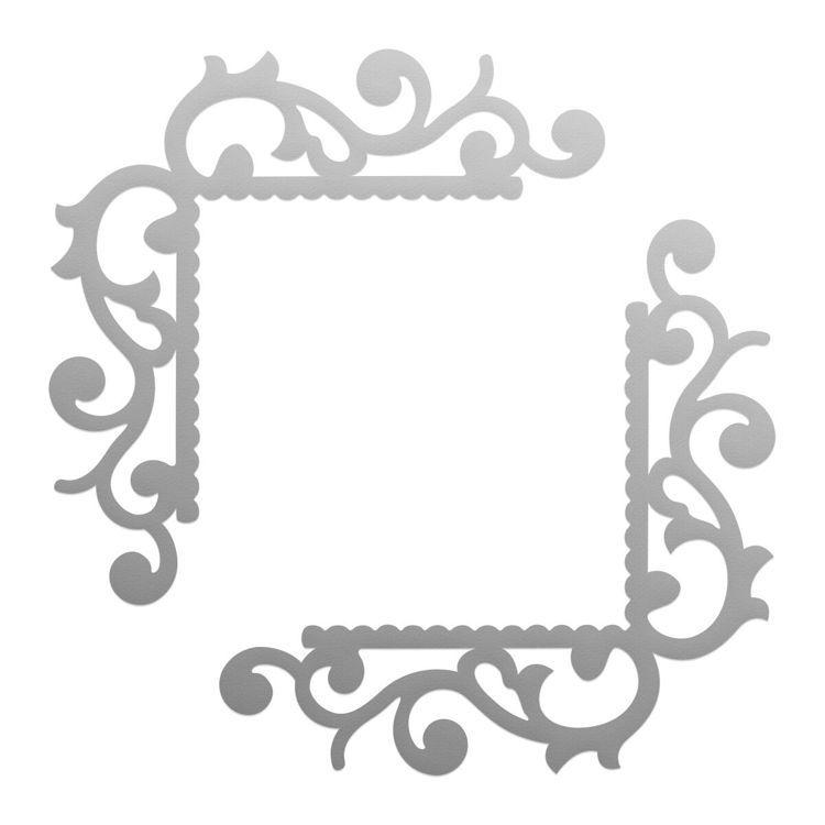 Flourished Corners Mini Die Set (2pc)