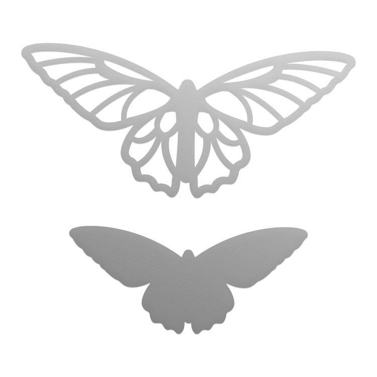 Secret Butterflies Mini Die Set (2pc)