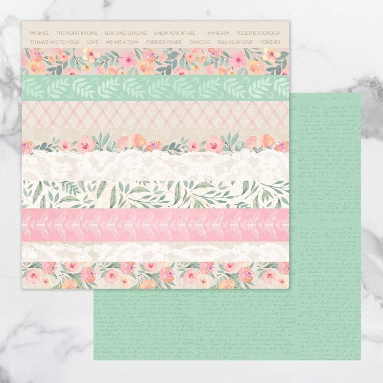 My Secret Love Double Sided Patterned Papers 12
