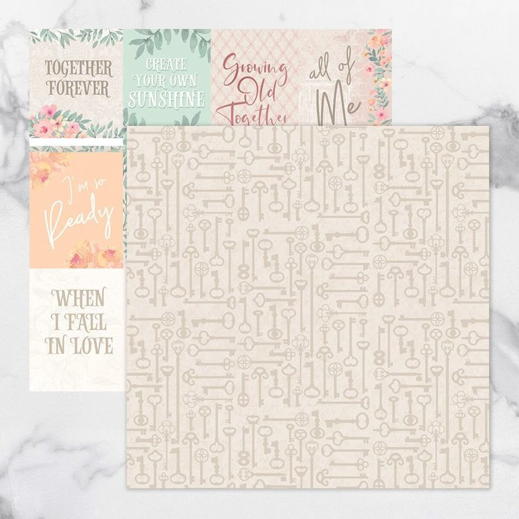 My Secret Love Double Sided Patterned Papers 11