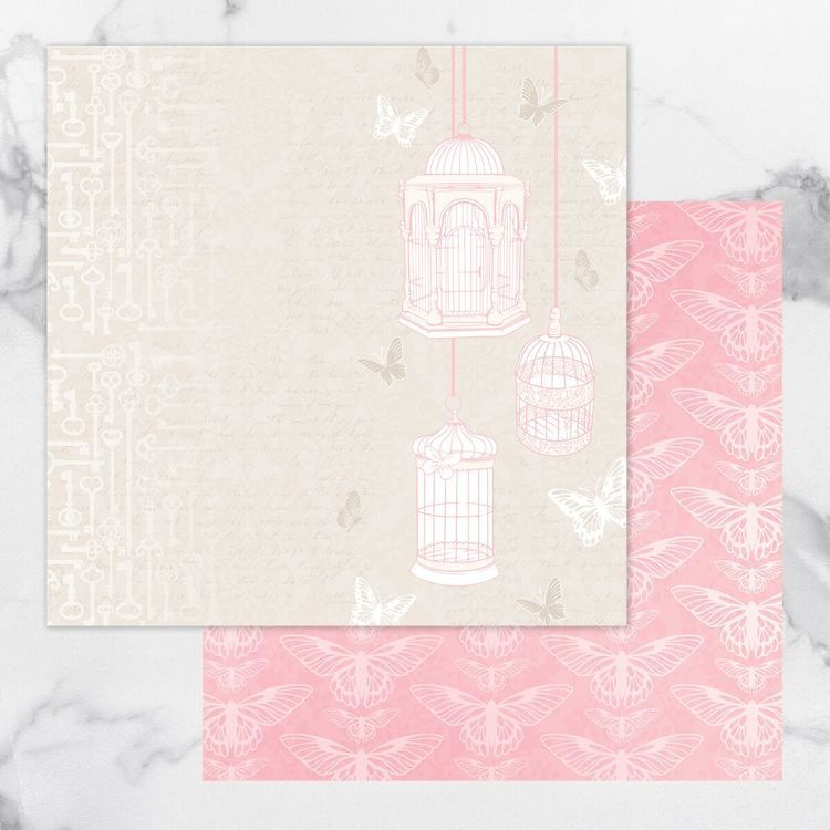 My Secret Love Double Sided Patterned Papers 9