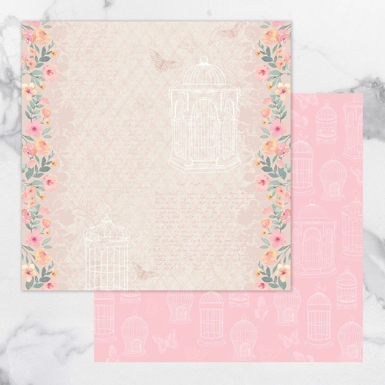 My Secret Love Double Sided Patterned Papers 6