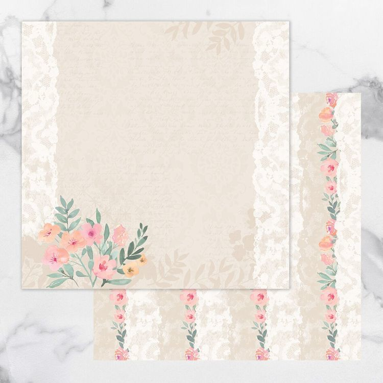 My Secret Love Double Sided Patterned Papers 4
