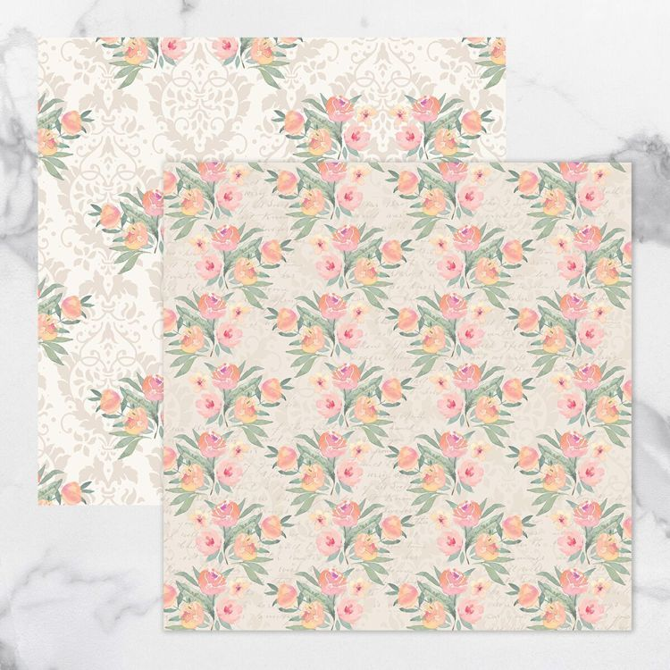 My Secret Love Double Sided Patterned Papers 3