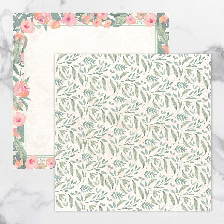 My Secret Love Double Sided Patterned Papers 1