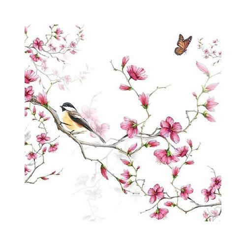 Bird & Blossom White