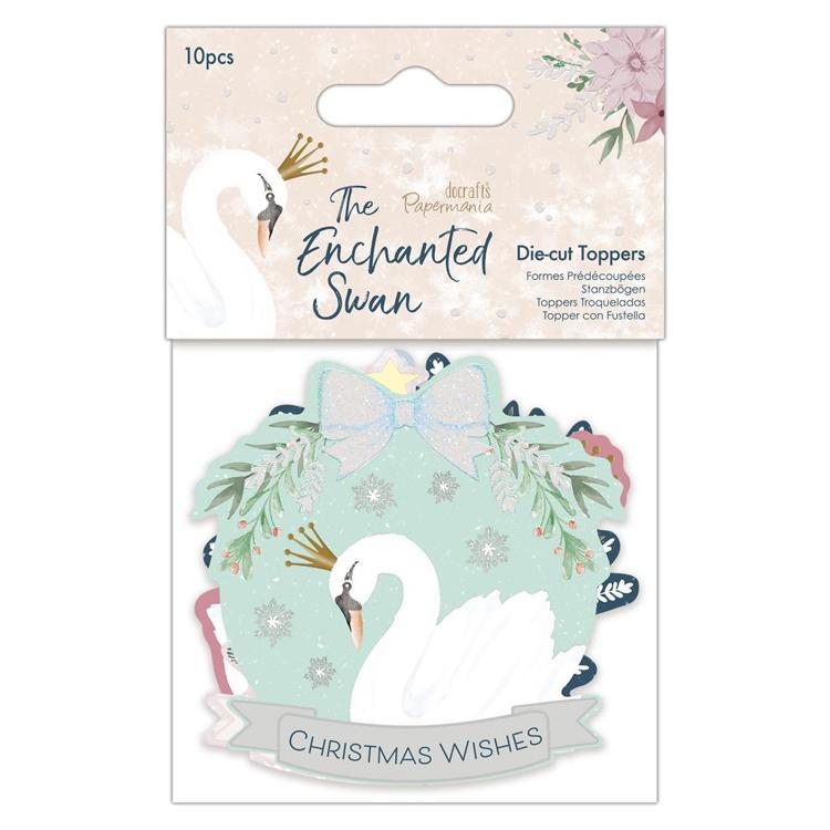 Die-cut Toppers (10pcs) - The Enchanted Swan
