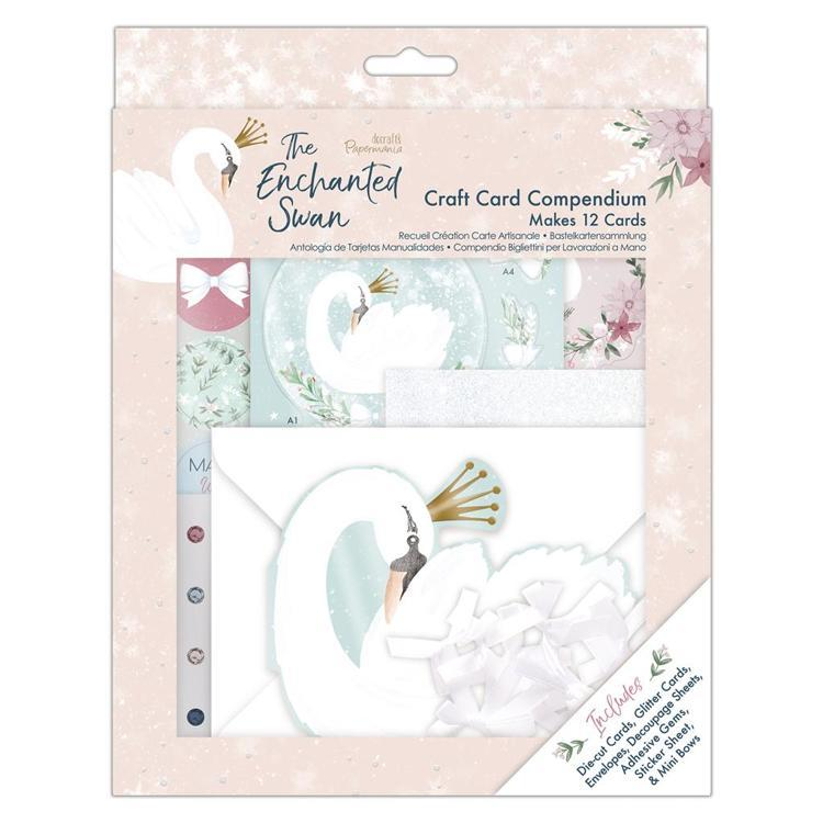 Craft Card Compendium - The Enchanted Swan