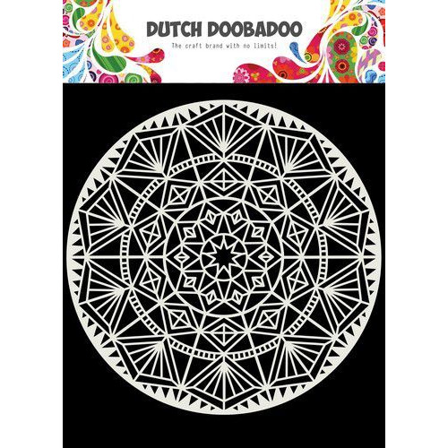 Dutch Doobadoo Dutch Mask Art 15x15cm Mandala 470.715.621 (05-20)