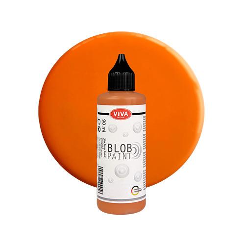 Blob Paint, Orange