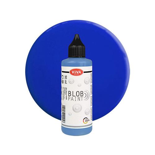 Blob Paint, Hellblau