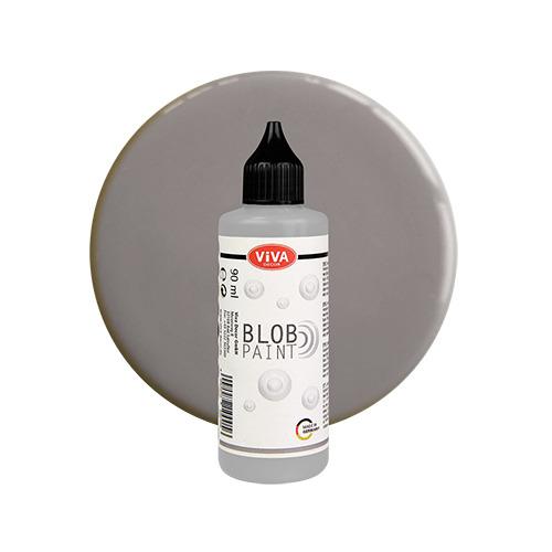 Blob Paint, Grau