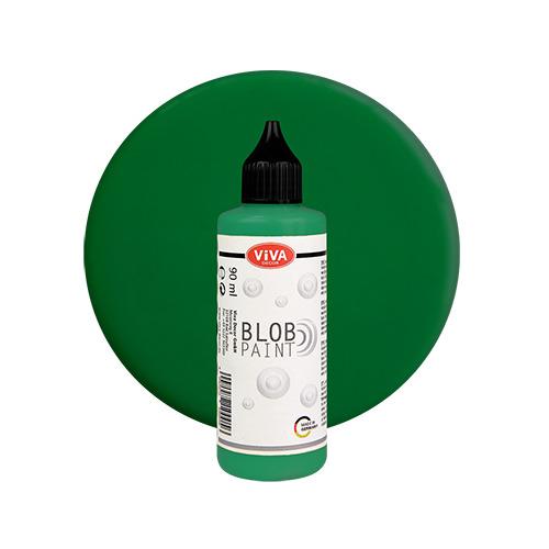 Blob Paint, Grün