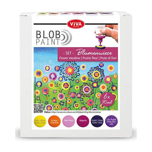 Blob Paint FarbSet Blumenwiese