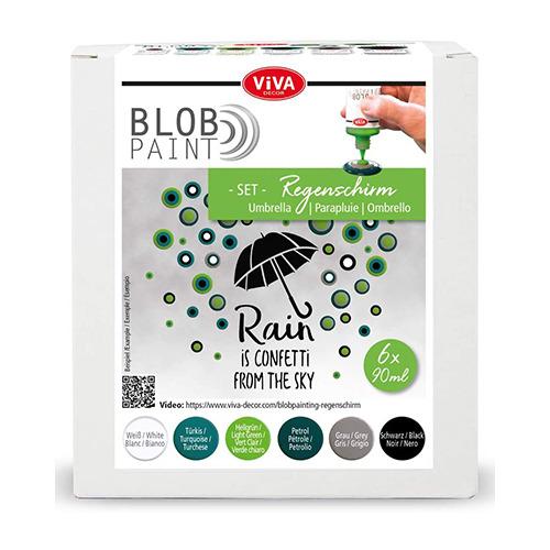 Blob Paint FarbSet Regenschirm