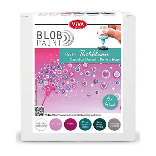 Blob Paint FarbSet Pusteblume
