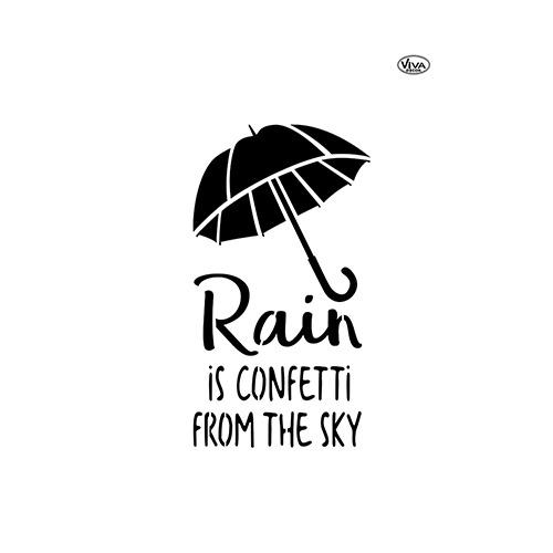 Blob Paint, Universal-Schablone, Regenschirm