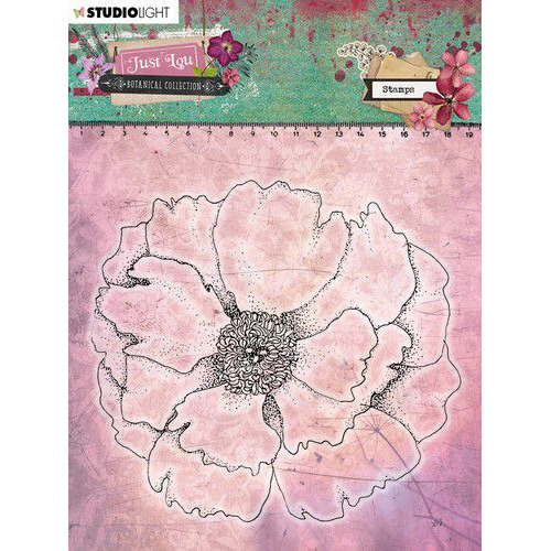Studio Light Clear Stamp 11x11cm Just Lou Botanical Collection nr.05 STAMPJL05 (06-20)