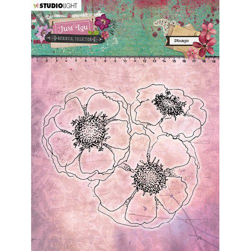 Studio Light Clear Stamp 11x11cm Just Lou Botanical Collection nr.08 STAMPJL08 (06-20)