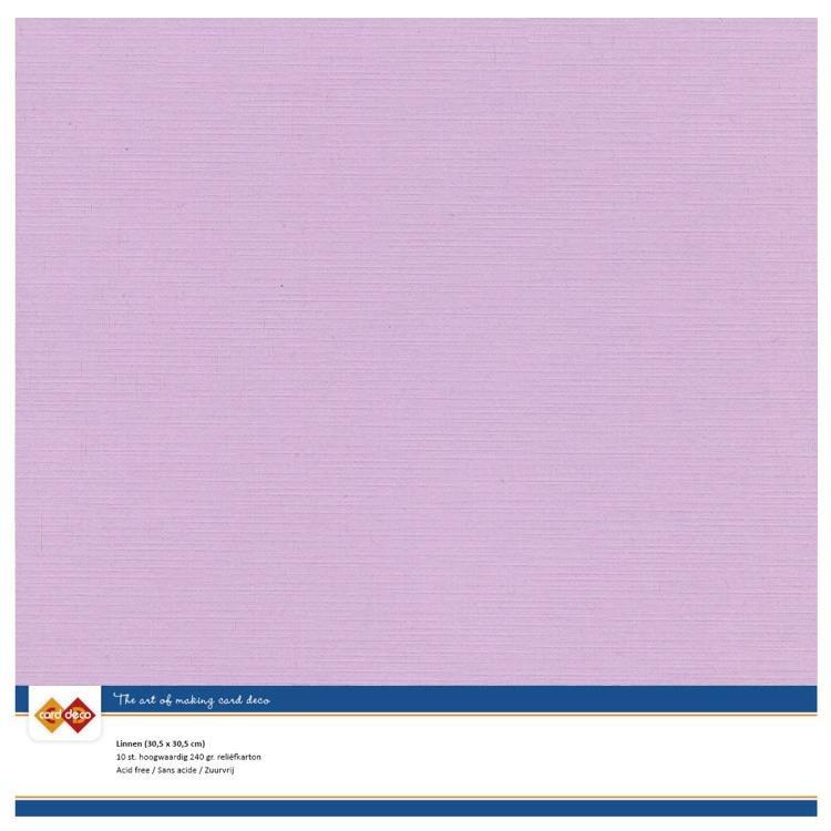 Linen Cardstock - SC - Magnolia Pink