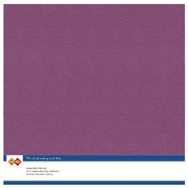 Linen Cardstock - SC - Azalea Pink