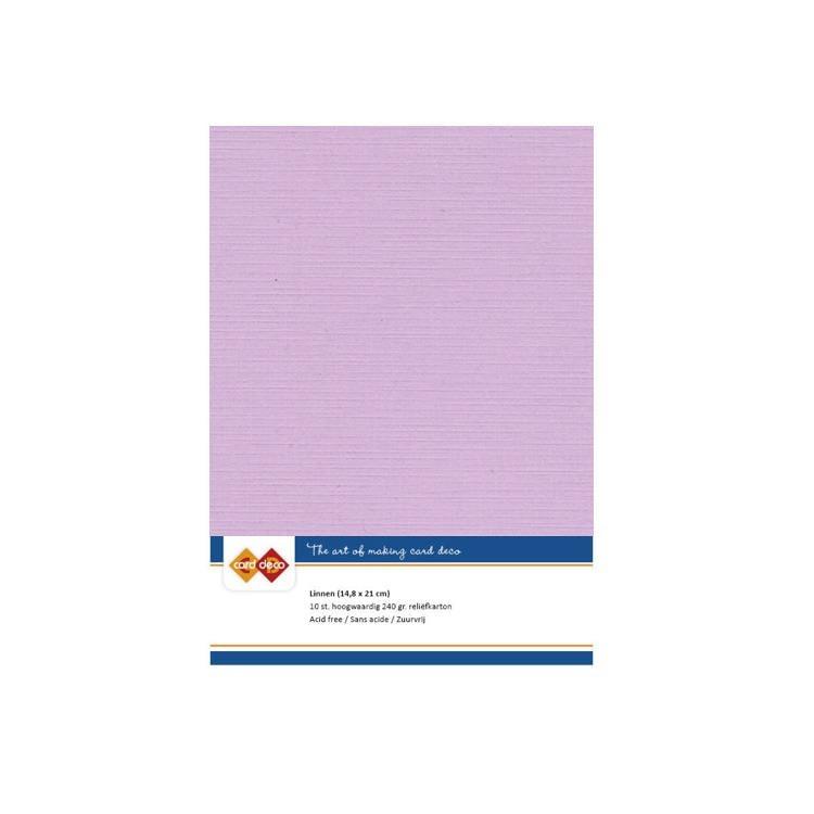 Linen Cardstock - A5 - Magnolia Pink