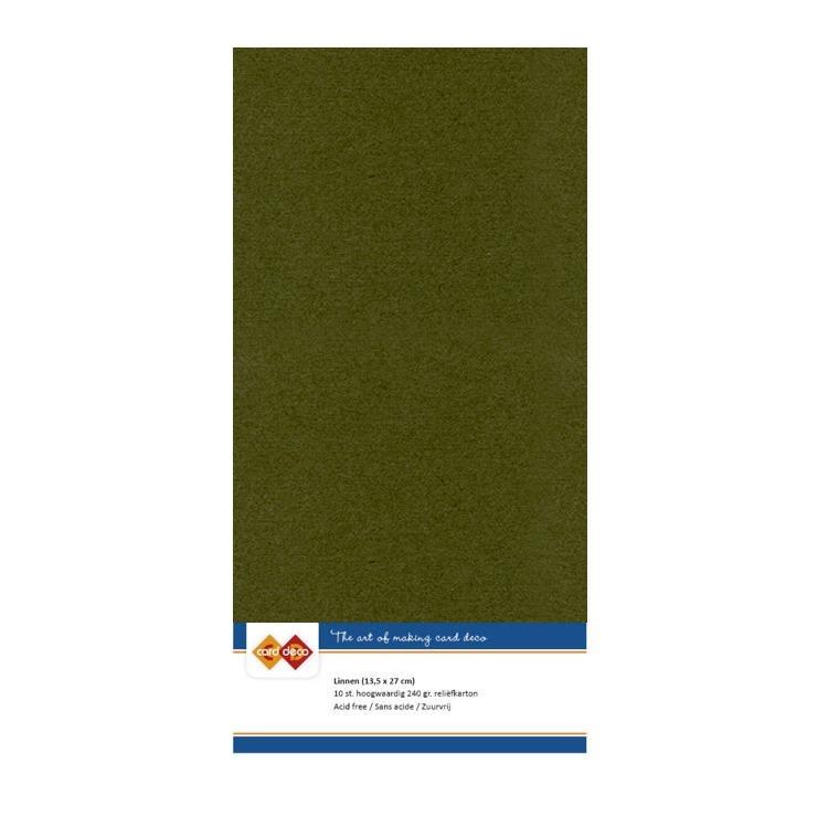 Linen Cardstock - 4K - Pine Green