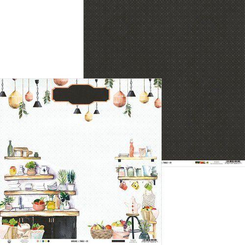 Piatek13 - Paper Around the table 01 P13-TAB-01 12x12 (06-20)