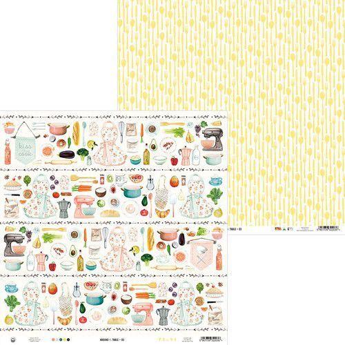 Piatek13 - Paper Around the table 03 P13-TAB-03 12x12 (06-20)