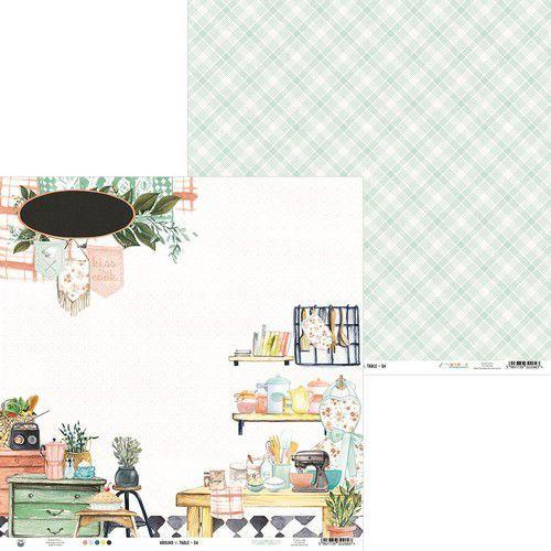 Piatek13 - Paper Around the table 04 P13-TAB-04 12x12 (06-20)
