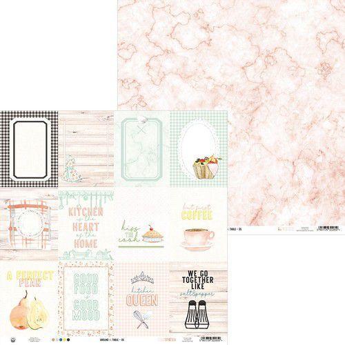 Piatek13 - Paper Around the table 05 P13-TAB-05 12x12 (06-20)