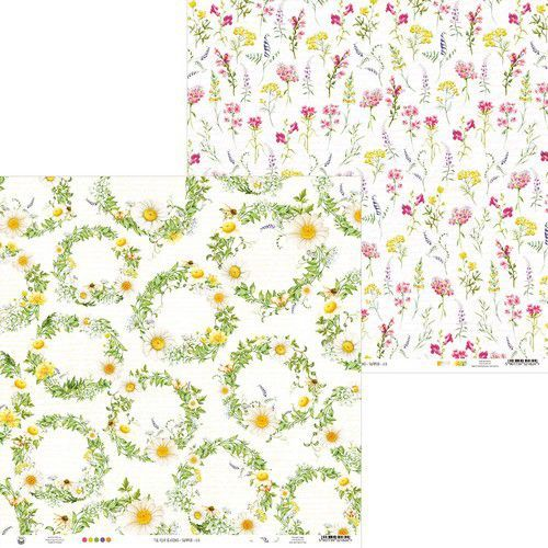 Piatek13 - Paper The Four Seasons - Summer 03 P13-SUM-03 12x12 (06-20)