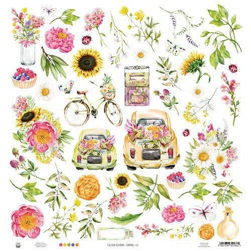 Piatek13 - Paper The Four Seasons - Summer 07 P13-SUM-07 12x12 (06-20)