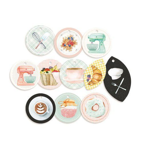 Piatek13 - Decorative tags Around the table 01 P13-TAB-21  (06-20)