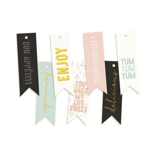 Piatek13 - Decorative tags Around the table 02 P13-TAB-22  (06-20)