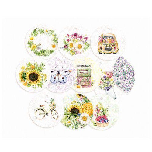 Piatek13 - Decorative tags The Four Seasons - Summer 01 P13-SUM-21  (06-20)