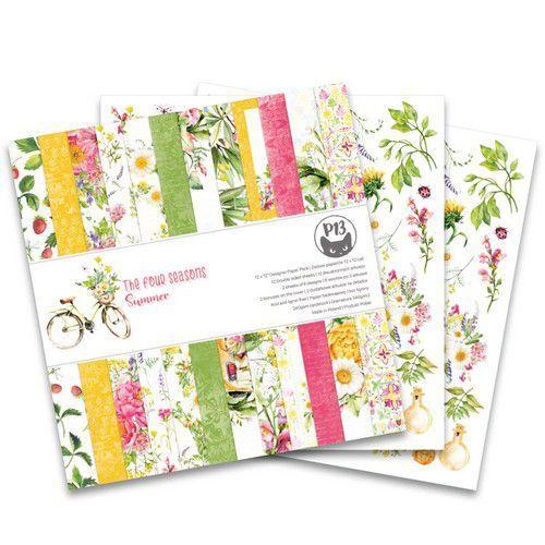 Piatek13 - Paper pad The Four Seasons - Summer 12x12 P13-SUM-08 12x12 (06-20)