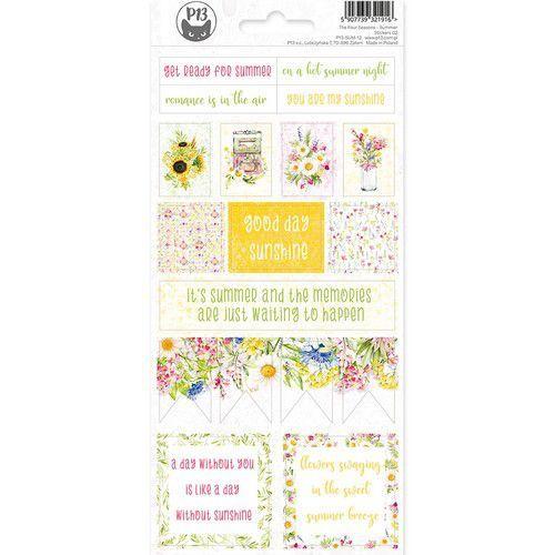 Piatek13 - Sticker sheet The Four Seasons - Summer 02 P13-SUM-12 10,5 x 23cm (06-20)