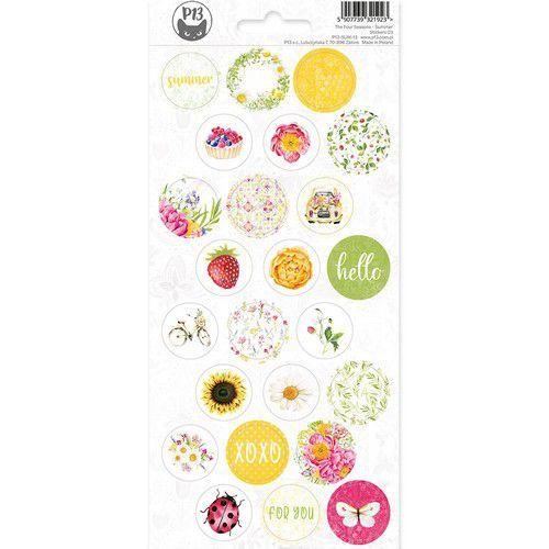 Piatek13 - Sticker sheet The Four Seasons - Summer 03 P13-SUM-13 10,5 x 23cm (06-20)