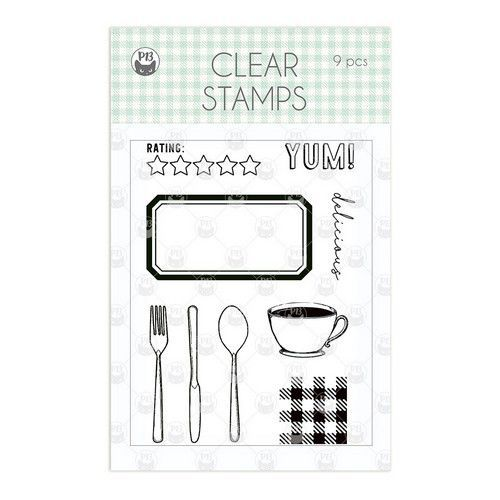 Piatek13 - Clear stamp set Around the table P13-TAB-30 (06-20)