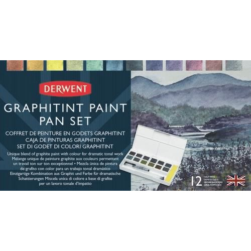 Derwent Graphitint Paint Pan Set DGT2305790