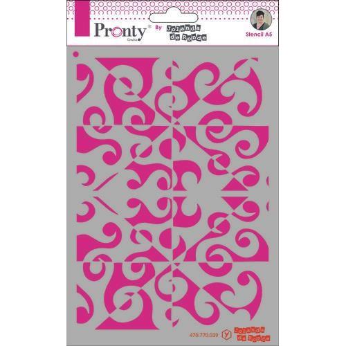 Pronty Mask Pattern background A5 470.770.039 by Jolanda (05-20)