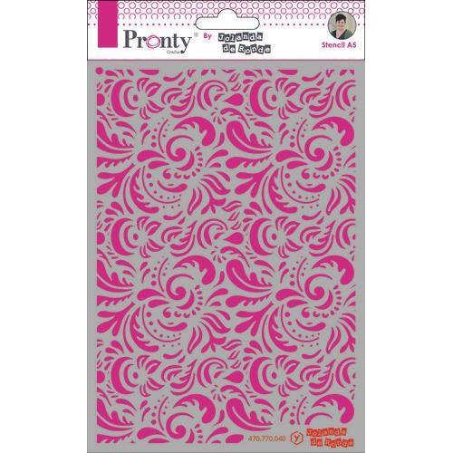 Pronty Mask Pattern barok 3 A5 470.770.040 by Jolanda (05-20)