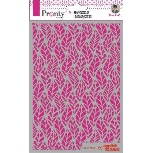 Pronty Mask Pattern leaves A5 470.770.041 by Jolanda (05-20)