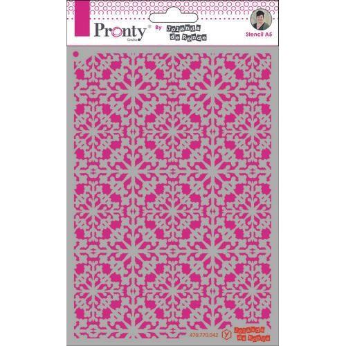 Pronty Mask Pattern barok 4 A5 470.770.042 by Jolanda (05-20)