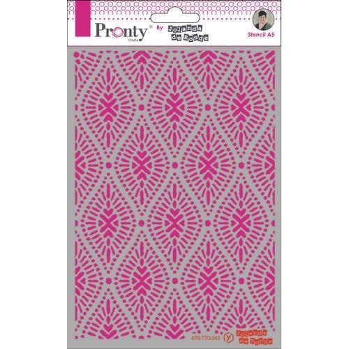 Pronty Mask Pattern oval A5 470.770.043 by Jolanda (05-20)