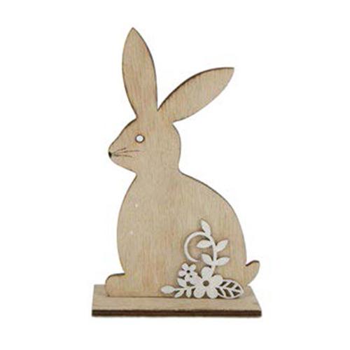 Houten konijn