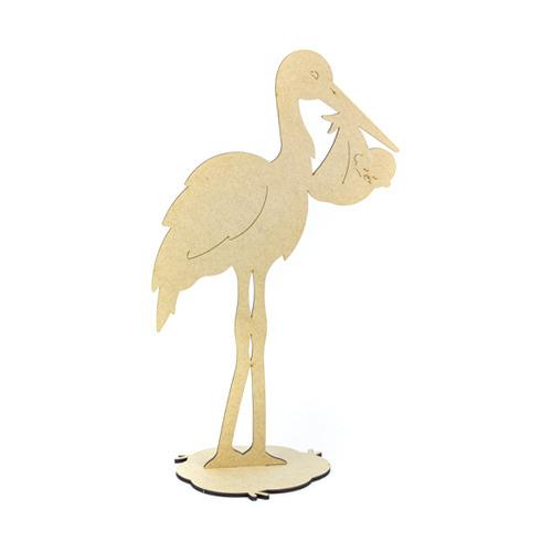 MDF Stork ,Baby