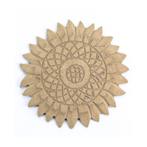 MDF ornament, zonnebloem